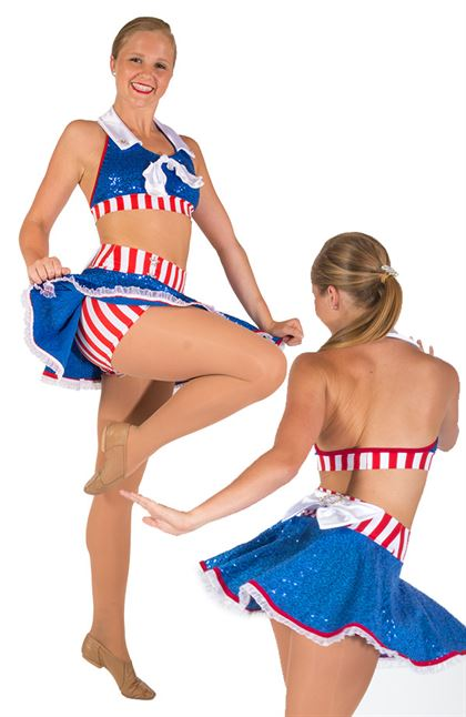 80742 - Patriotic - Adult Small