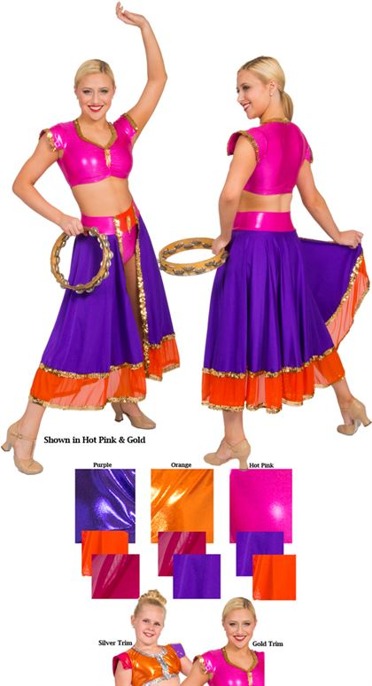81107 - Bollywood - Adult Small