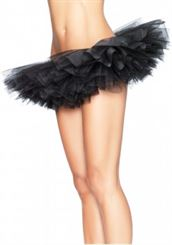 A1705 Organza Tutu - Black or White