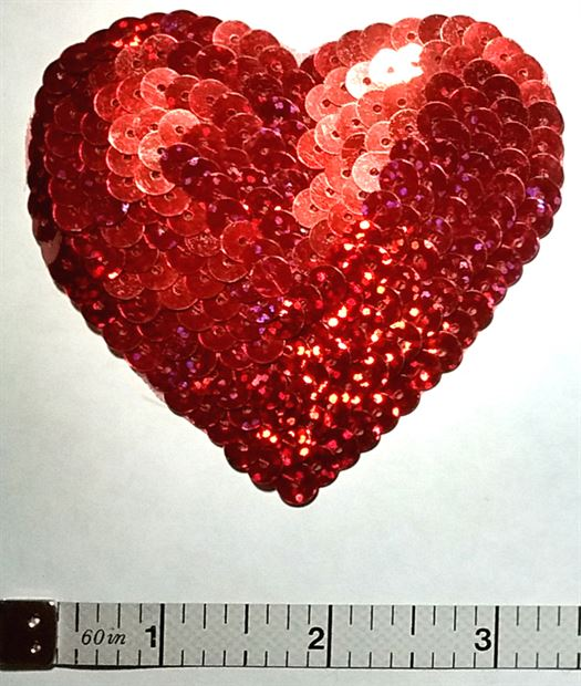 Sequin Heart